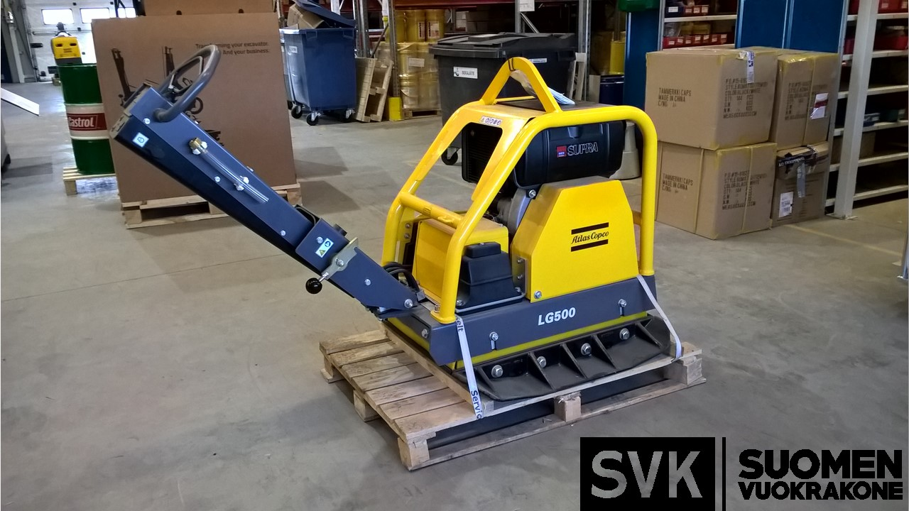 Maantiivistäjä 560kg